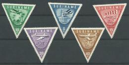 SURINAM: **, PA N°21 à 25, TB - Suriname