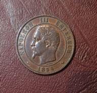 NAPOLEON III - Module 10 Centimes, Monument érigé à La Bourse De Lille 1854 - France
