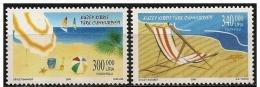 Cipro Turca/Chypre Turc/Turkish Cyprus: Spiaggia, Beach, Plage, Ombrellone, Beach Umbrella - Ferien & Tourismus