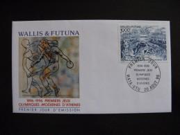 Wallis Et Futuna:   FDC Du PA N° 194 . Le 20/08/1996 à MATA-UTU . - FDC