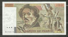 100 Francs Delacroix 1989 A.148 - 1962-1997 ''Francs''
