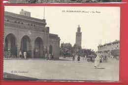 C.P.A.Marrakech La Poste - Marrakech