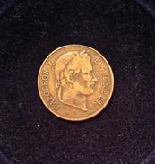 SECOND EMPIRE - Médaille En Hommage à Napoléon I - Royaux / De Noblesse