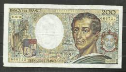 200 Francs Montesquieu 1989 C.0.70 - 1962-1997 ''Francs''