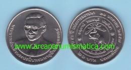 "THAILAND  20  BAHT  2.016  (2.014)  ""50th Anniversary Of Chiangmai University""  Cu-Ni  SC/UNC   T-DL-11.738 - Thailand"
