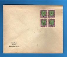 SVIZZERA ° -Anno 1925- Pro Juventute. Cat. Zum. J33 - Unif. 218. Quartina. Usati - Pro Juventute