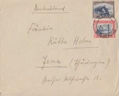South West Afrika Brief Mif  Otavi 24.11.32 Gel. Nach Deutschland - Briefmarken
