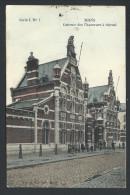 CPA - MONS - Caserne Des Chasseurs à Cheval - Couleur 1909   // - Mons