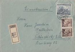 Böhmen Und Mähren R-Brief Mif Minr.2x 21, 34 Prag 3.9.41 - Besetzungen 1938-45