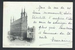 CPA - LOUVAIN - LEUVEN - L'Hôtel De Ville - 1899   // - Leuven