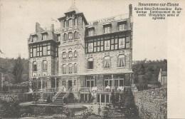 ANSEREMME-SUR-MEUSE : Grand Hotel Delbrassinne - Cachet De La Poste 1909 - Dinant