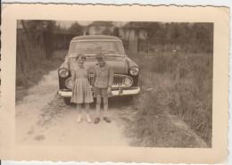 PHOTO ORIGINALE 10X8 / AUTOMOBILE - UNE VERSAILLES 1960 - Automobiles