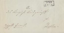 Preussen Brief R2 Buer Gel. Nach Dorsten - Preussen