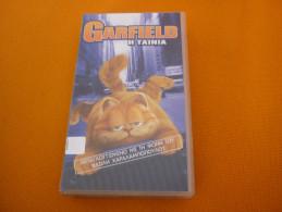 Garfield: The Movie - Old Greek Vhs Cassette Video Tape From Greece - Enfants & Famille
