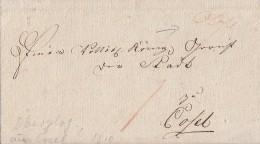 Brief Gelaufen Nach Cosel Von 1810 - Deutschland