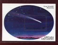 Grenada Grenadines, 1985,  Space, Comet Halley