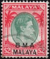 STRAITS SETTLEMENTS - Scott #269 King George VI / Used Stamp - Malaya (British Military Administration)