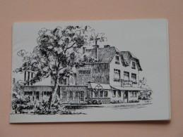 """Hotel - Restaurant """" LE ROANNAY """" Francorchamps  ( Plooibaar Reclamekaart Carte De Visite / Zie Foto Voor Details ) !! - Visiting Cards"""