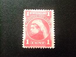 NEWFOUNDLAND TERRANOVA  TERRE NEUVE 1897 - 1901 Victoria Yvert Nº 64 (*) - Newfoundland