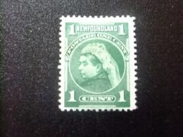 NEWFOUNDLAND TERRANOVA  TERRE NEUVE 1897 - 1901 Victoria Yvert Nº 65 (*) - Newfoundland