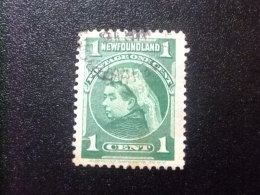 NEWFOUNDLAND TERRANOVA  TERRE NEUVE 1897 - 1901 Victoria Yvert Nº 65 º FU - Newfoundland