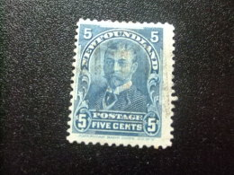 NEWFOUNDLAND TERRANOVA  TERRE NEUVE 1897 - 1901 Duc D´York Yvert Nº 70 º FU - Newfoundland
