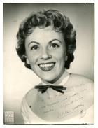 ODETTE LAURE - Signature Sur Photo TEDDY PIAZ - 18 X 24cm - Autographs