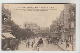 CPSM BERCK (Pas De Calais) - Avenue De La Gare - Berck
