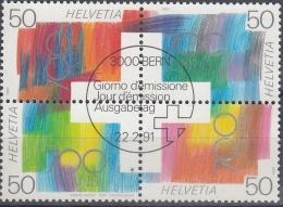Suiza 1991 Nº 1368/71 Usado - Suiza