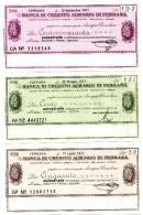 Italia - Miniassegno Banca Di Credito Agrario Di Ferrara - Ferrara 1977 - Monete & Banconote