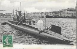 MARSEILLE (13) Sous Marin Submersible Dans Le Vieux Port - Marseille