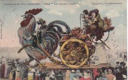 Carnaval De Nice - 28ème - Coq - Char - 1910 - Carnaval