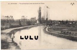 DEPT 18 : Bourges , Vue Panoramique Prise Des Bords De L Yèvre - Bourges