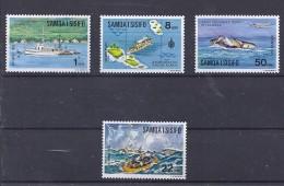 150025461  SAMOA ISISIFO  YVERT    Nº  353/7 **/MNH  (EXCEPT Nº 355) - Samoa
