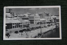 BERMUDES - Maisons De Corail, Carte Publicitaire PLASMARINE , ( Bel Affranchissement ) - Bermudes
