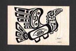 INDIENS DE L´AMÉRIQUE DU NORD - PACIFIC NORTHWEST COAST INDIAN MOTIF - HOHO - THUNDERBIRD - SEE MY DESCRIPTION - Indiens De L'Amerique Du Nord