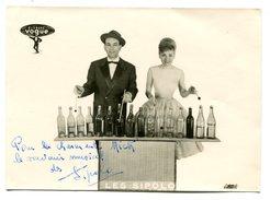 LES SIPOLO Signature Sur Photo - 13 X 18 Cm - Autographes