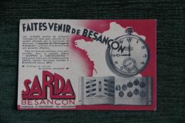 Etablissements SARDA : Faites Venir De BESANCON, Une Véritable Montre De Précision . - Besancon