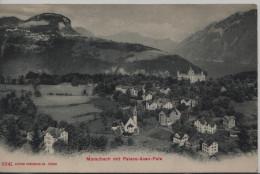 Morschach Mit Palace-Axen-Fels - SZ Schwyz