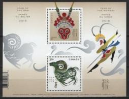 Canada (2016) - Block -  /  Monkey - Chinese New Year - Chinees Nieuwjaar