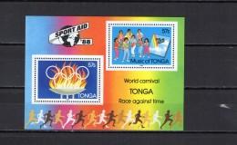 Tonga 1988 Olympic Games S/s MNH - Summer 1988: Seoul