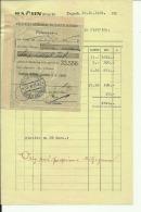 CROATIA, ZAGREB  --  KOLONIALE  --  FACTURA, INVOICE  --  1930 - Rechnungen