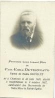 Souvenir Mortuaire - Paul-Emile Duvigneaud, Né à Châtillon En 1848 Et Décédé à Neufchâteau En 1917 - Obituary Notices
