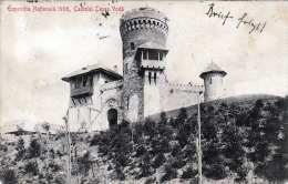 EXPOSITIA NAJTIONALE 1906 (Rumänien) - Castelul Tepes-Voda, Gel.1906, 2 Sondermarken - Rumänien