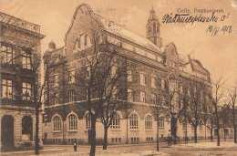 GEFLE (Schweden) - Postkontoret, Gel.1918, Zensurstempel, 10 Ö Marke - Schweden