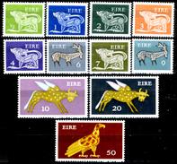 """Irlanda 010 - 1971-82 -  Valori """"Animali Simbolici"""" (++) MNH, Privi Di Difetti Occulti.- - 1949-... Repubblica D'Irlanda"""