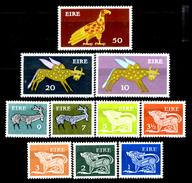 """Irlanda 011 - 1971-82 -  Valori """"Animali Simbolici"""" (++) MNH, Privi Di Difetti Occulti.- - 1949-... Repubblica D'Irlanda"""