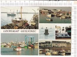 LECHIAGAT   Et   GUILVINEC   -  Les  Ports De  Pêche  -  6   Vues - Guilvinec