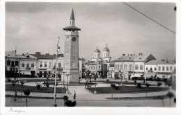 GIURGIU (Rumänien) - Hauptplatz?, Fotokarte 1941 - Rumänien