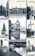 AMSTERDAM - 9 Bilderkarte Gel.190?, 2 Marken - Amsterdam